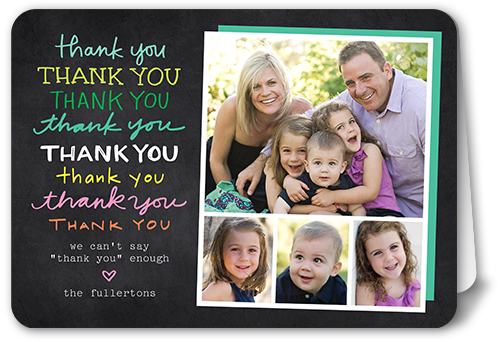 A Million Thanks Thank You Card