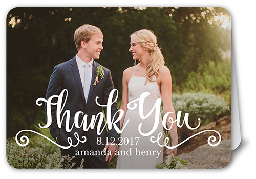 Scripted Appreciation Thank You Card