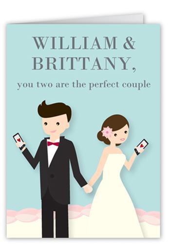 Sweet Pair Wedding Card