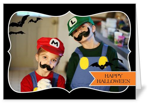 Halloween Frame Halloween Card