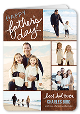 written for dad fathers day card