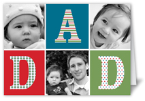 alphabet blocks fathers day card
