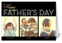 dad collage noir fathers day card