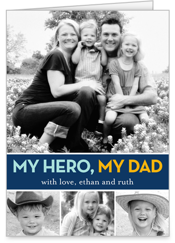 Hero Dad Father's Day Card