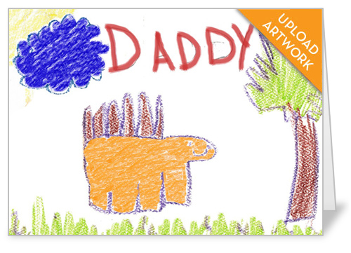 Made For Dad Father's Day Card