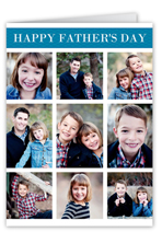 memorable mosaic fathers day card
