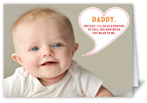 one day daddy fathers day card