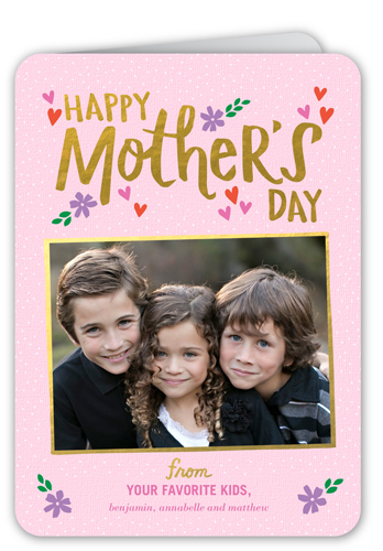 Delightful Details Mother's Day Card, Rounded Corners