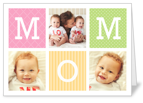 M-O-M Mother's Day Card
