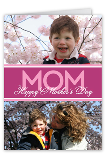 Simply Mom Mother's Day Card, Square Corners