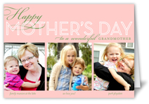 happy grandma collage mothers day card