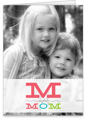 M Is For Mother's Day Card
