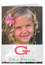 g is grandma mothers day card