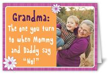 doting grandma mothers day card