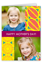 sunny collage mothers day card