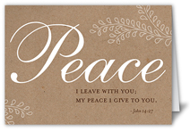 forever peace sympathy card