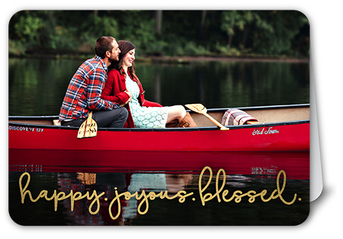 Happy Joyous Blessed Religious Christmas Card