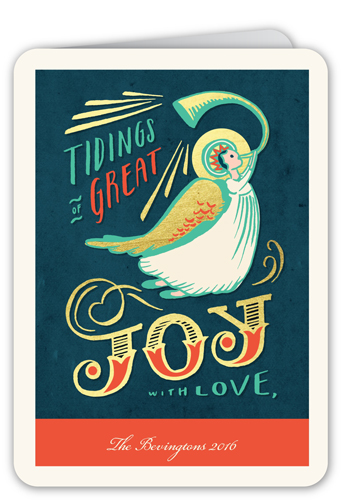 Angelic Joy Religious Christmas Card