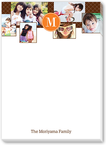 Favorite Family Collage 5x7 Notepad