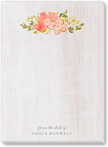 Wooden Reminder 5x7 Notepad
