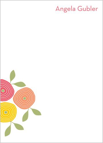 Flower Power 5x7 Notepad Custom Notepads Shutterfly