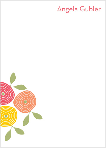 Flower Power 5x7 Notepad