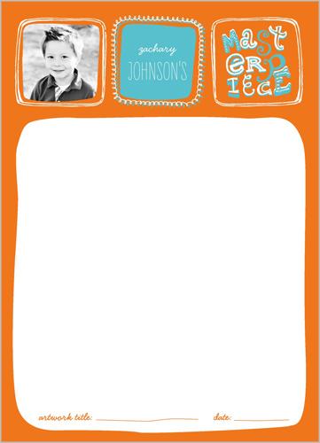 Masterpiece Boy 5x7 Notepad