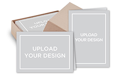 upload your own design mix match stationery set