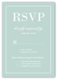divine elegance wedding response card