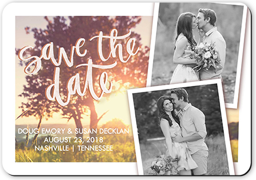 Photo Overlay Save The Date