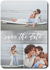 watercolor announcement save the date stationerymagnet
