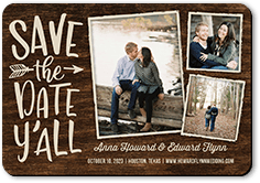 southern engagement save the date