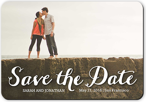 Wonderful Pairing Save The Date