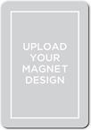 upload your own design wedding card stationerymagnet
