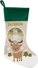 my reindeer christmas stocking