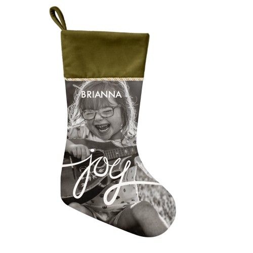 Spreading Joy Christmas Stocking