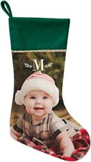 keyline monogram christmas stocking