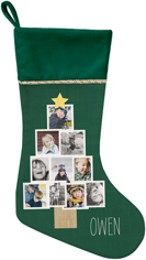 christmas tree christmas stocking