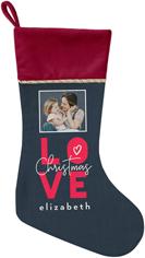 christmas in love christmas stocking