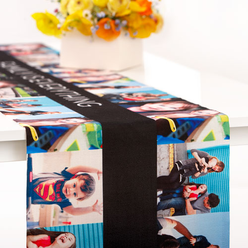 Gallery Collage Table Runner