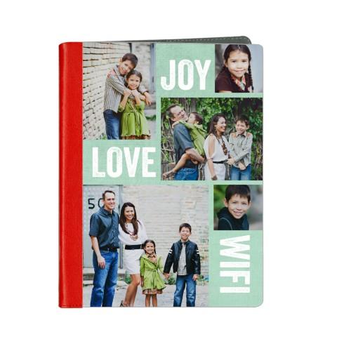 Joy Love Wifi ipad Case, Red, iPad 1,2,3,4, Blue