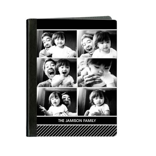 Modern Stripe ipad Case, Black, iPad 1,2,3,4, Black