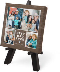 best rustic ever tabletop canvas print