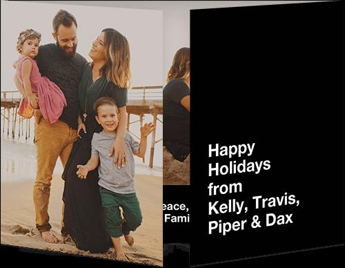 Contemporary Happy Holiday Card