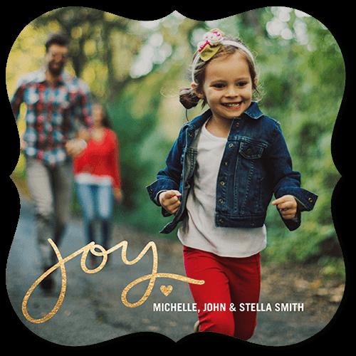 Joyful Little Heart Holiday Card