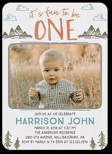 Wild Celebration Birthday Invitation