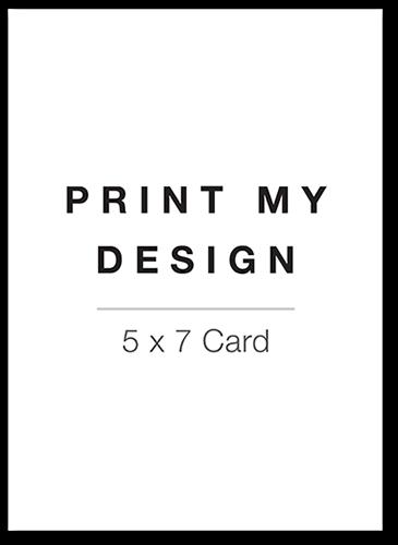 Print My Design Baby Shower Invitation