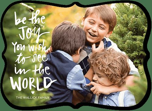 Wonderful World Holiday Card