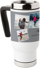 family texture blocks travel mug with handle