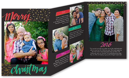 Whimsical Story Christmas Card